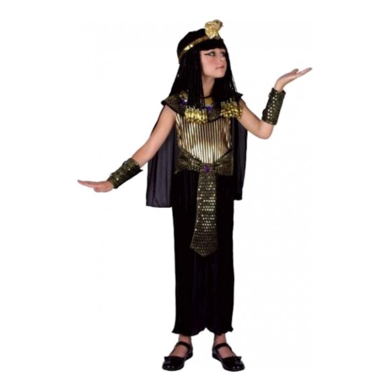 Egyptisk Drottning Barn Maskeraddräkt - Small