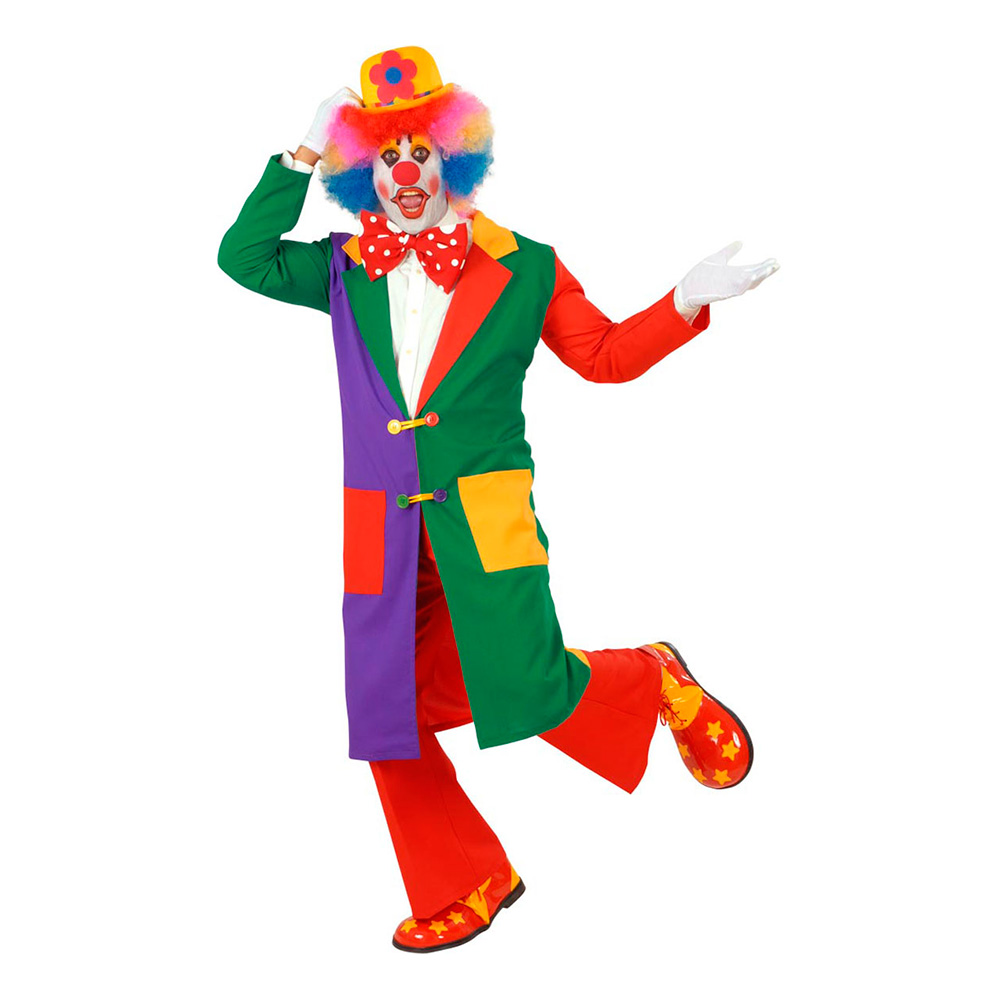 Clownrock Maskeraddräkt - Large