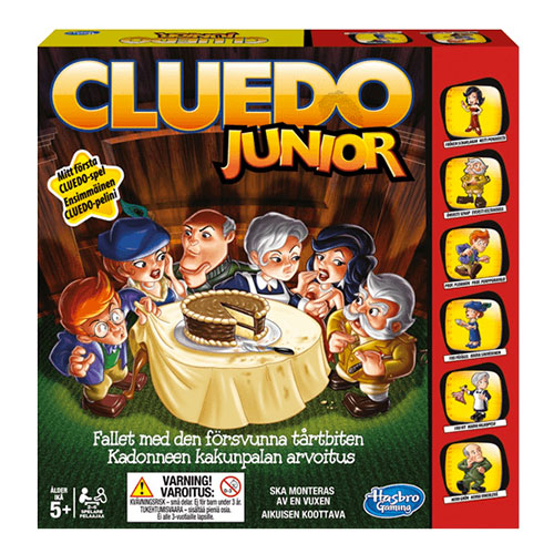 Cluedo Junior Brädspel