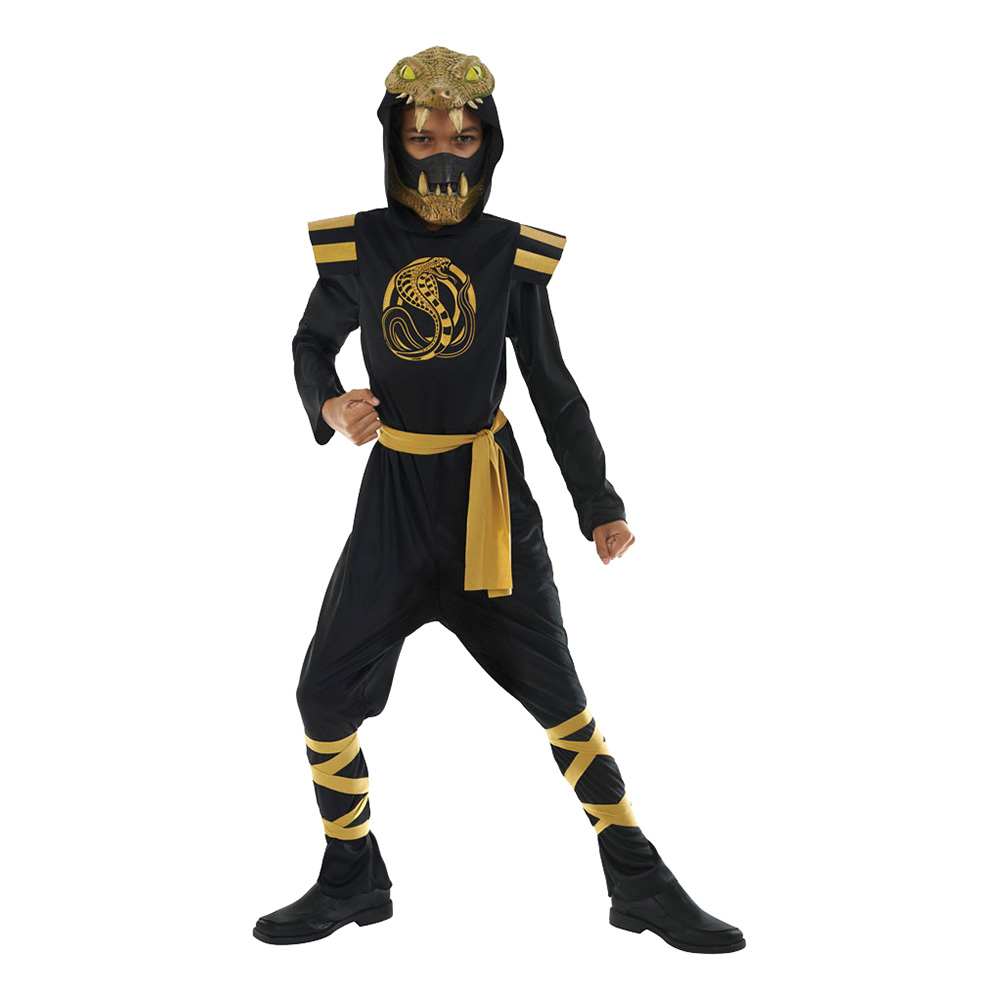 Cobra Ninja Barn Maskeraddräkt - Small