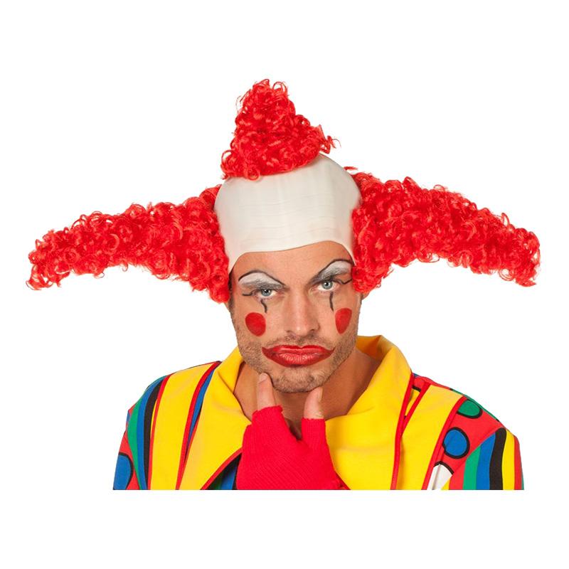 Coco Clown Peruk - One size