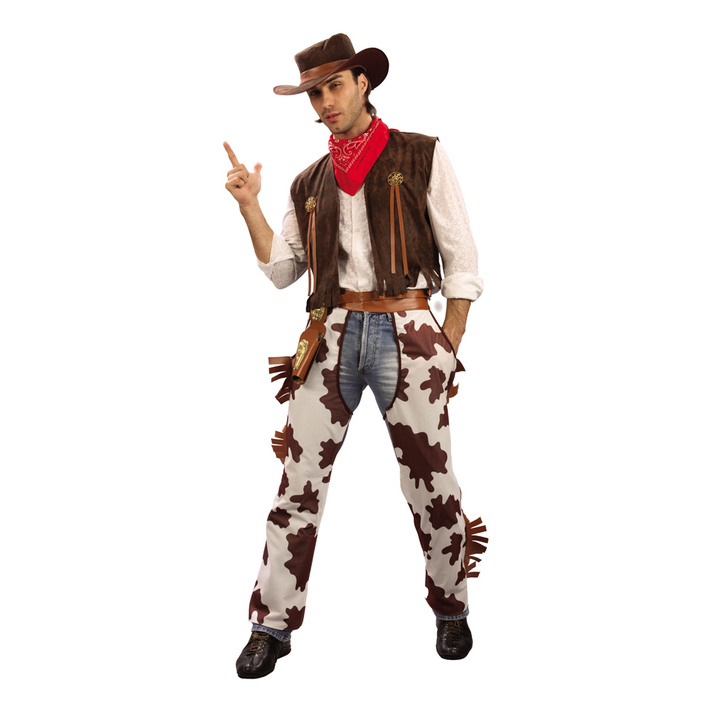 Cowboy Budget Maskeraddräkt - One size