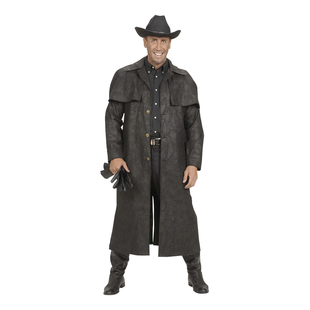 Cowboy Läderlook Maskeraddräkt - Small