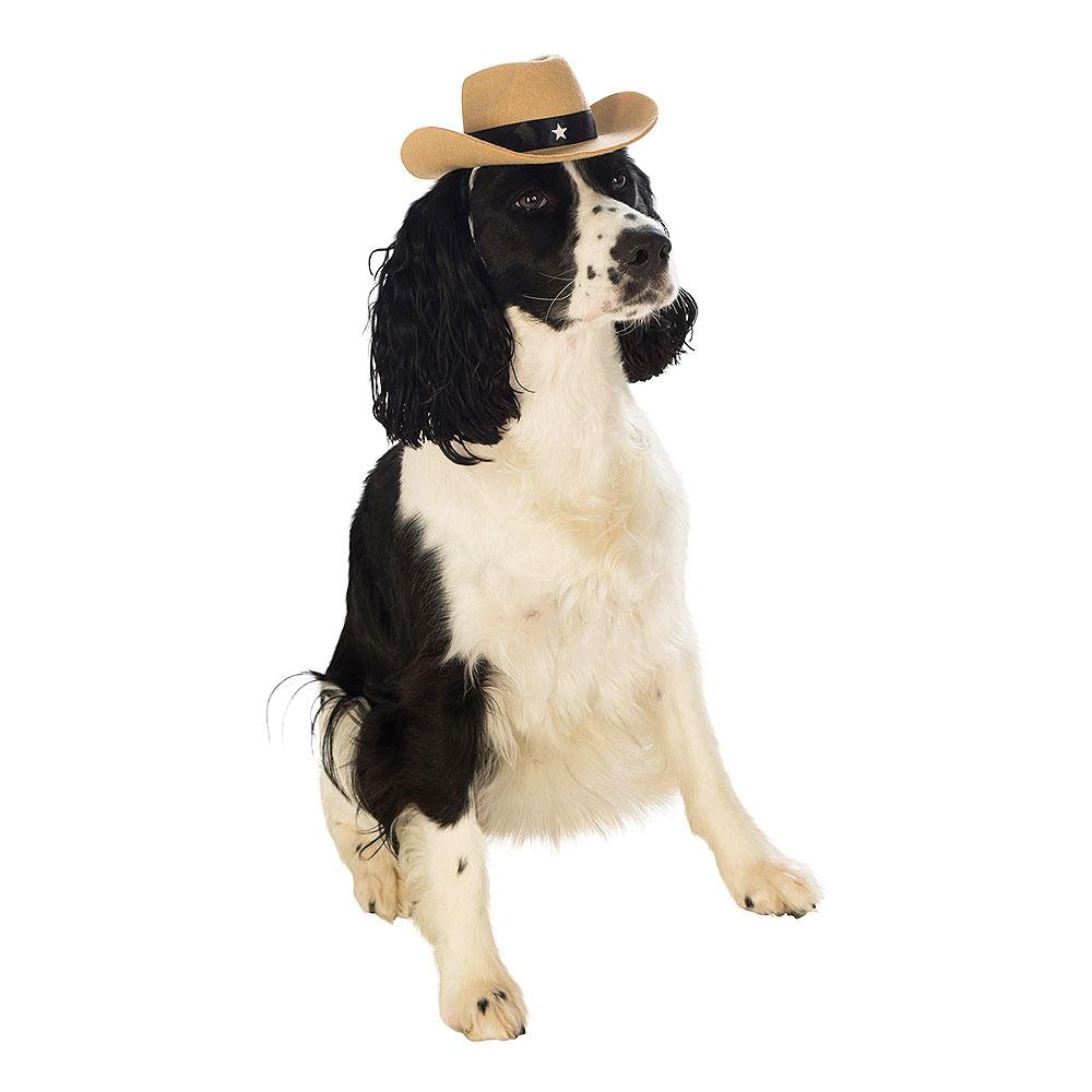 Cowboyhatt för Hundar - Small/Medium