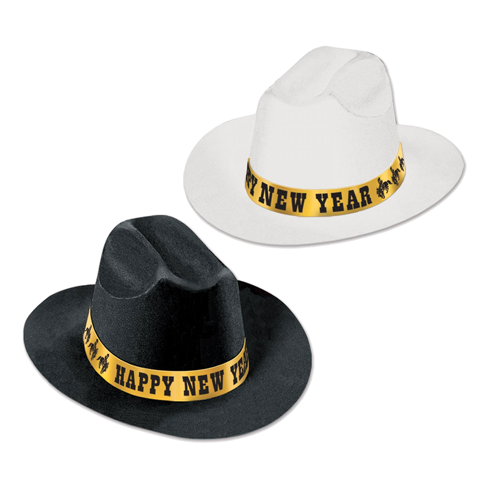 Cowboyhatt Happy New Year