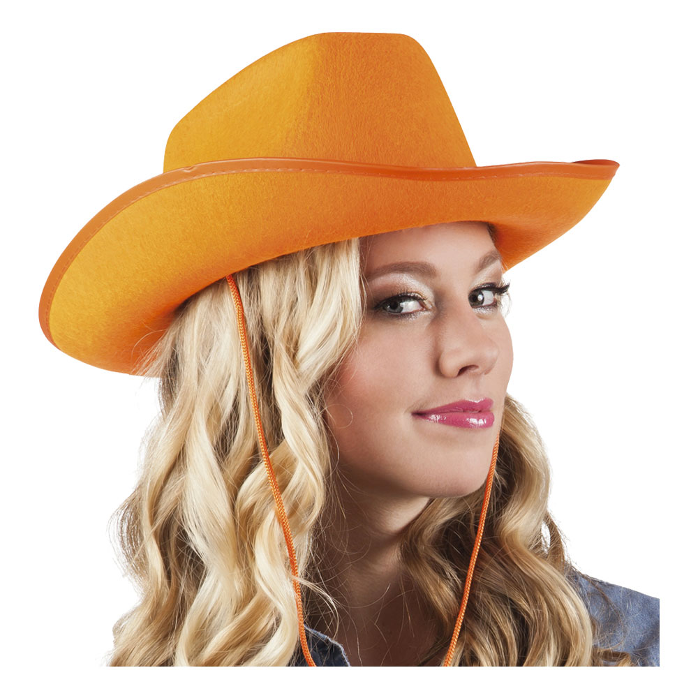 Cowboyhatt Rodeo Orange - One size