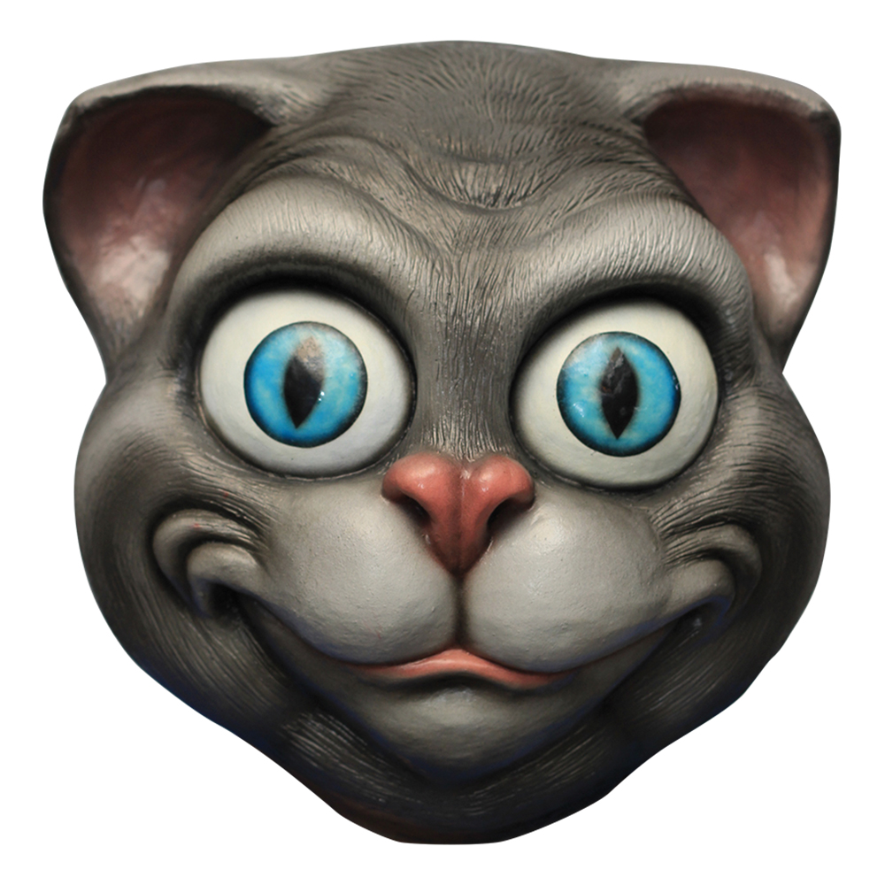 Crazy Cat Deluxe Mask - One size
