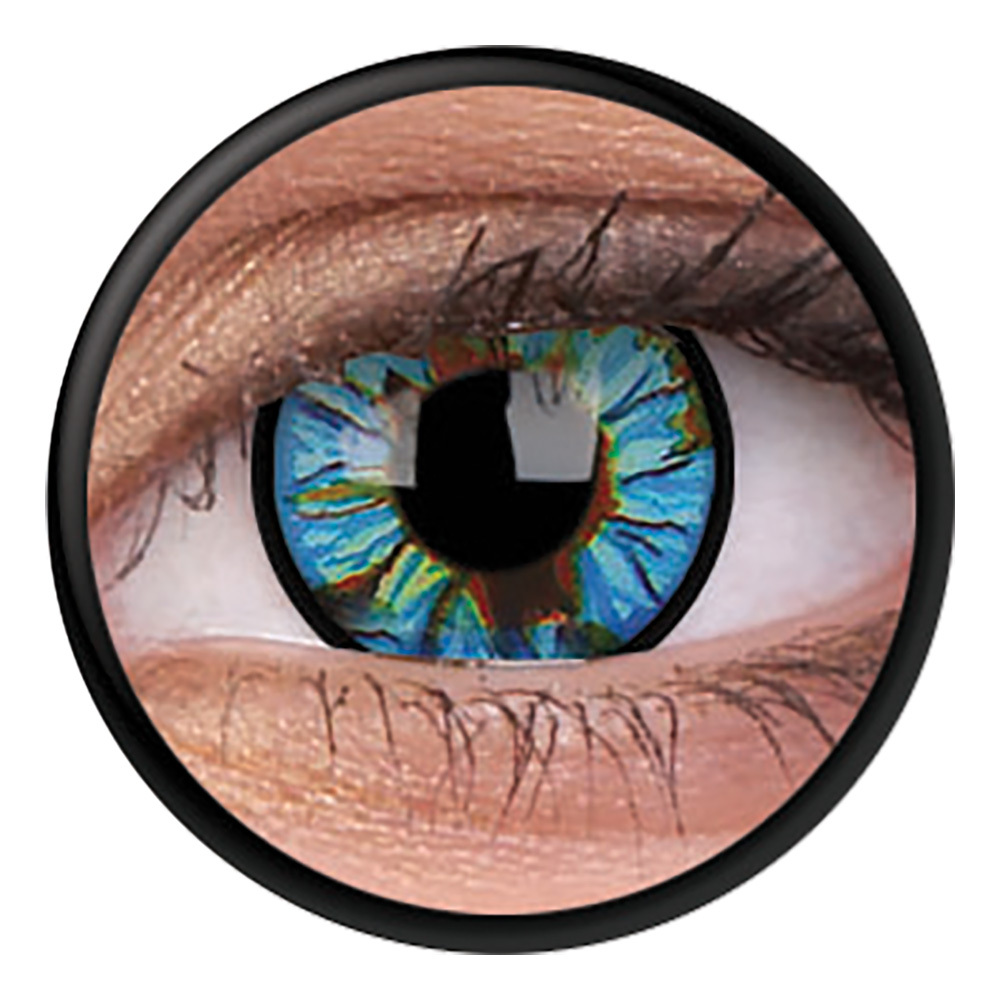 Crazylinser Blue Streak – Vill du köpa varor inom Exklusiva färgade linser   Låt dig inspireras 364cac012f96c