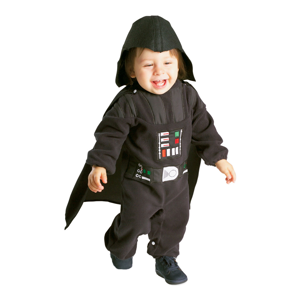 Darth Vader Bebis Maskeraddräkt - One size