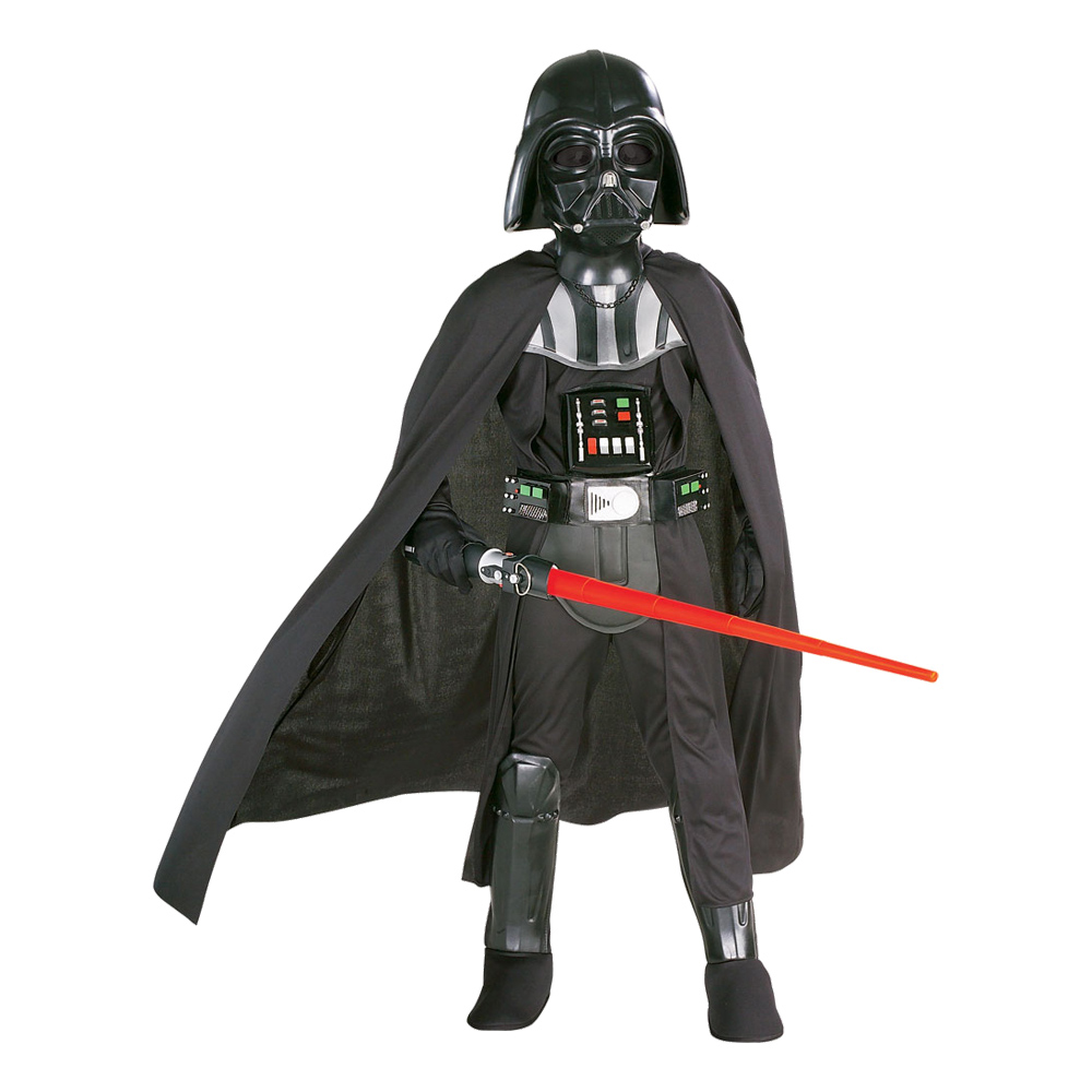 Darth Vader Deluxe Barn Maskeraddräkt - Small