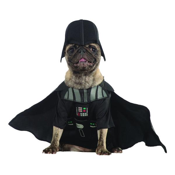 Darth Vader Hund Maskeraddräkt - One size