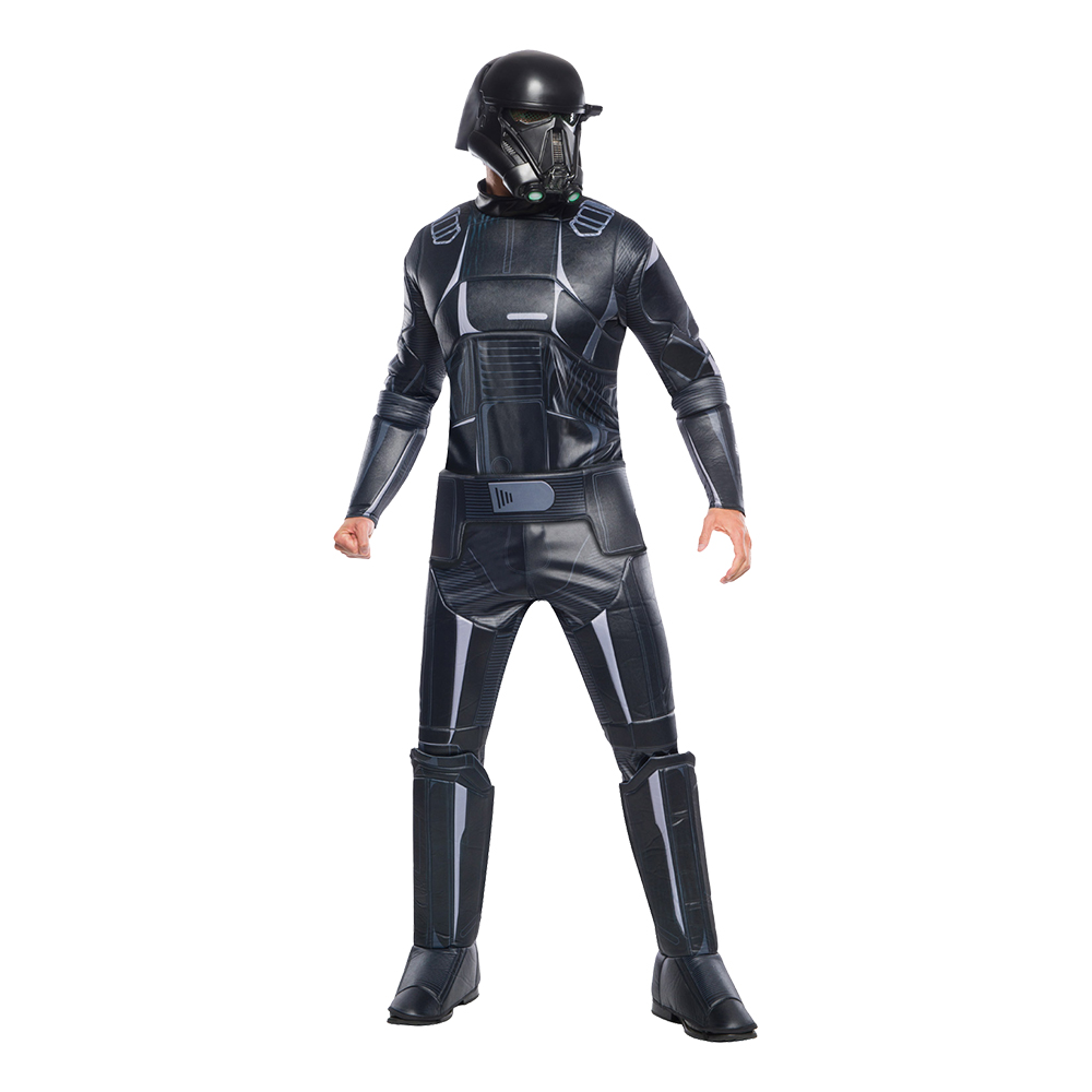 Death Trooper Deluxe Maskeraddräkt - Standard