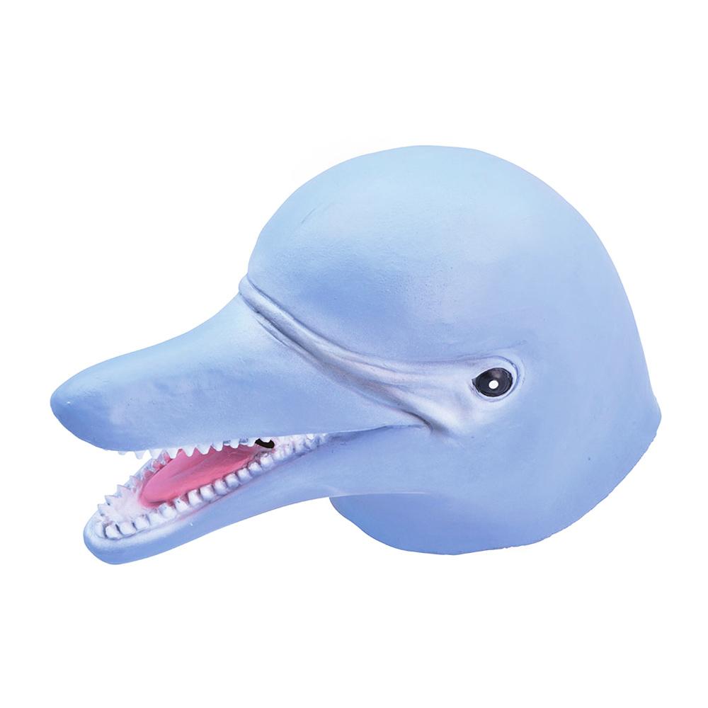 Delfinmask i Gummi - One size