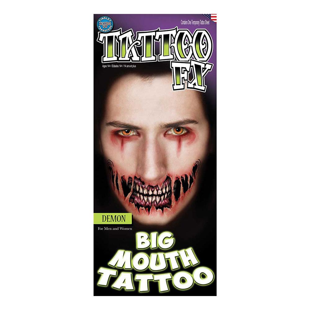 Demonmun Tatuering FX - 2-pack