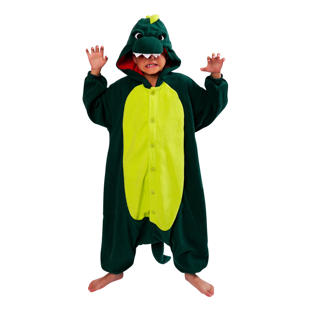 Dinosaurie Barn Kigurumi - Medium