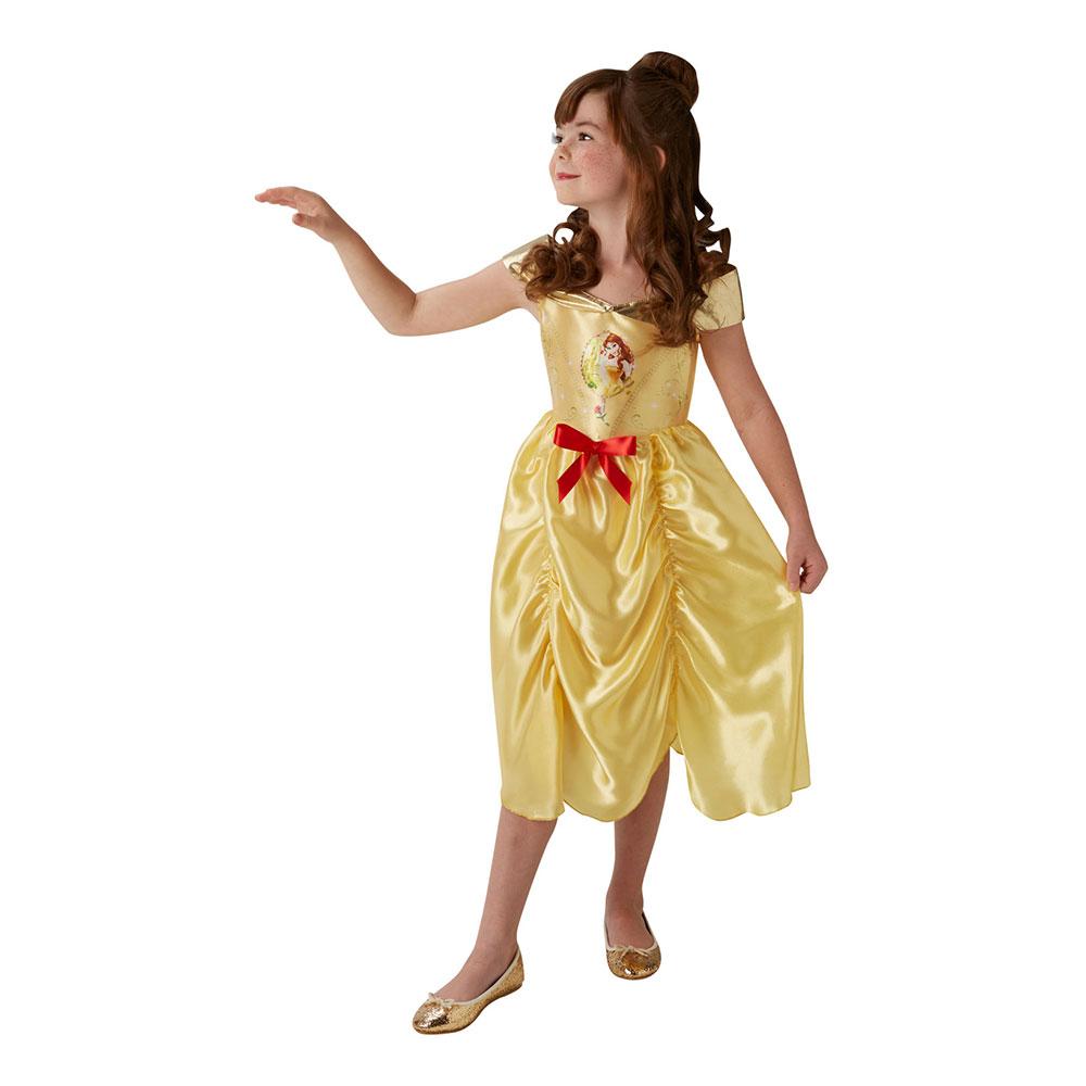 Disney Belle Sagobok Barn Maskeraddräkt - Medium