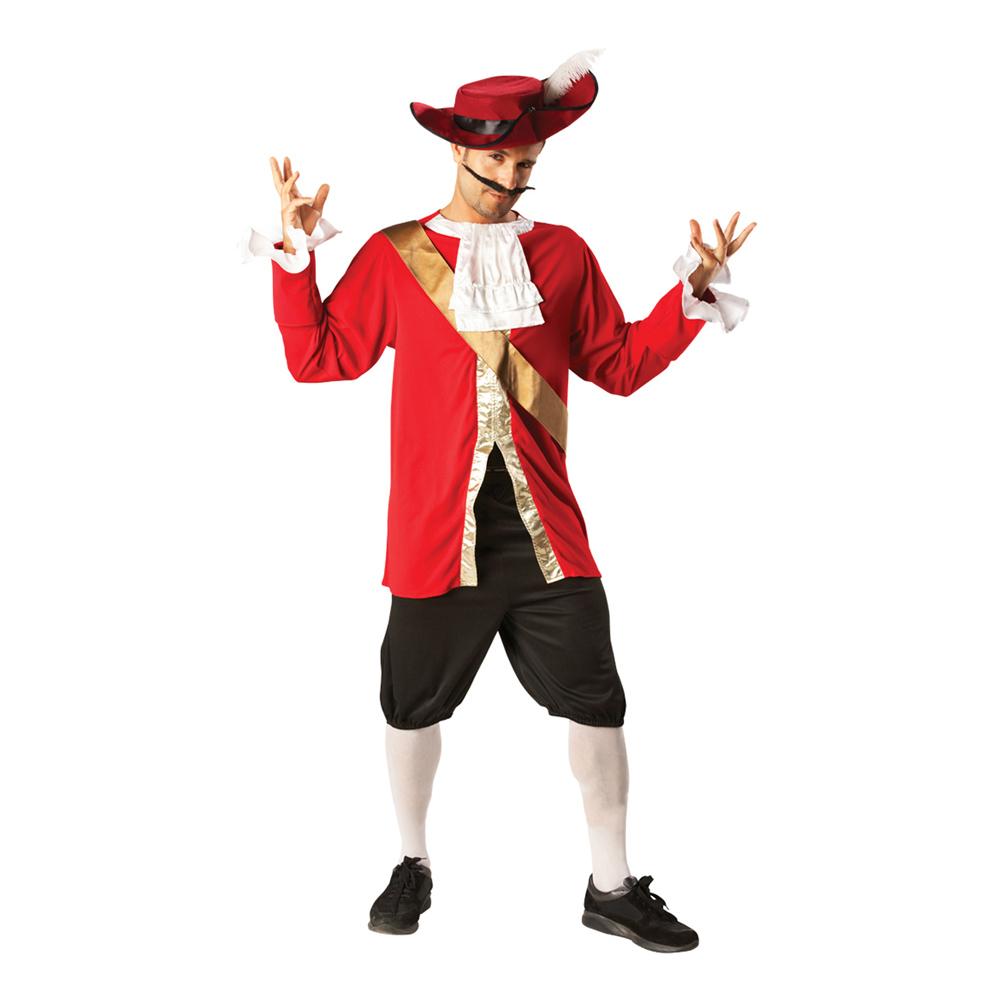 Disney Kapten Krok Maskeraddräkt - Standard