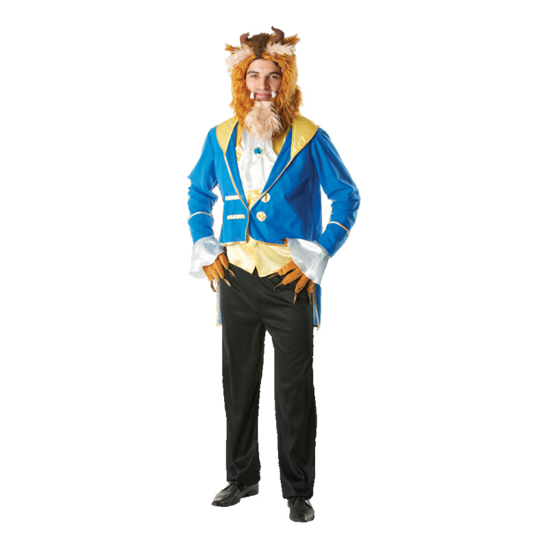 Disney Odjuret Maskeraddräkt - Standard