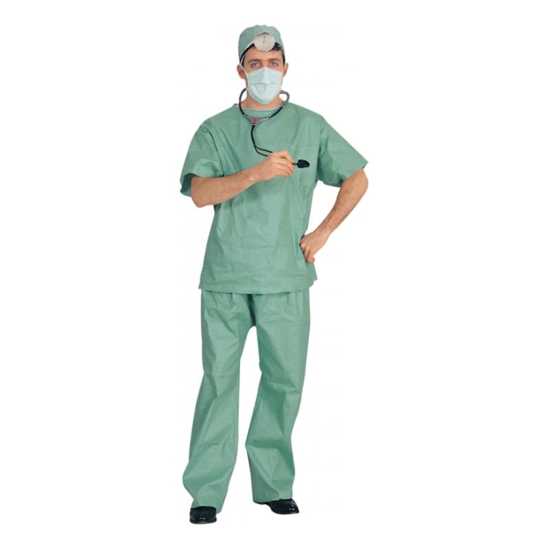 Doktor med Stetoskop Maskeraddräkt - One size