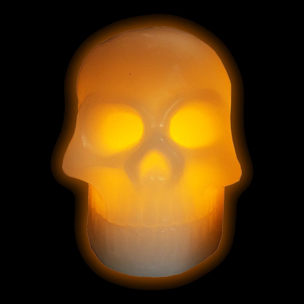 Dödskalleljus LED