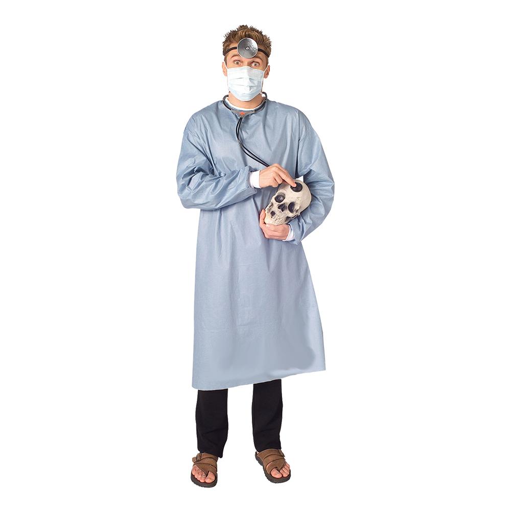 Doktor med Pannlampa Maskeraddräkt