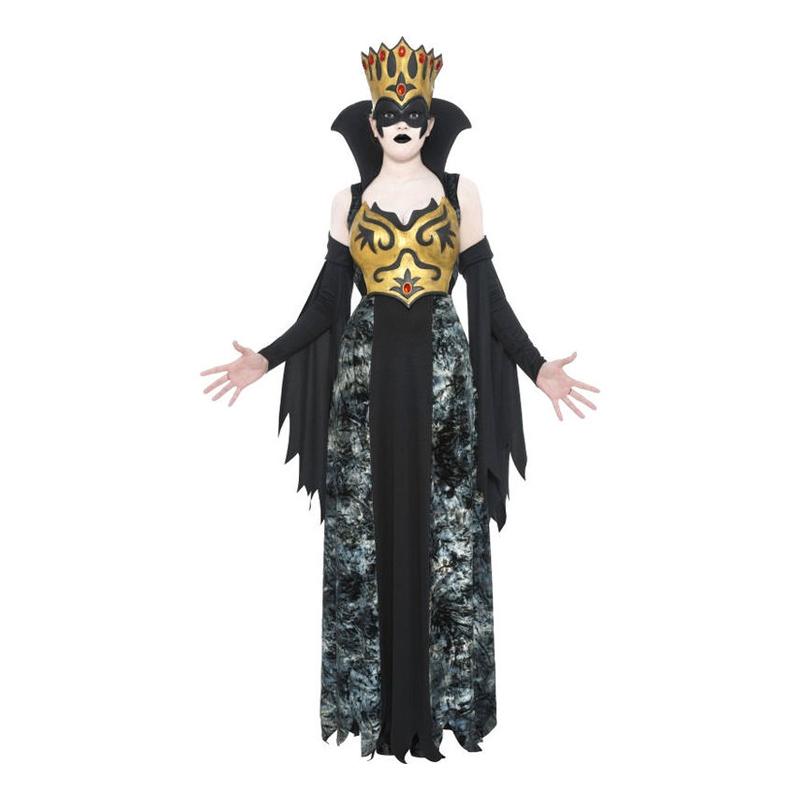 Drottning Halloween Maskeraddräkt - Small