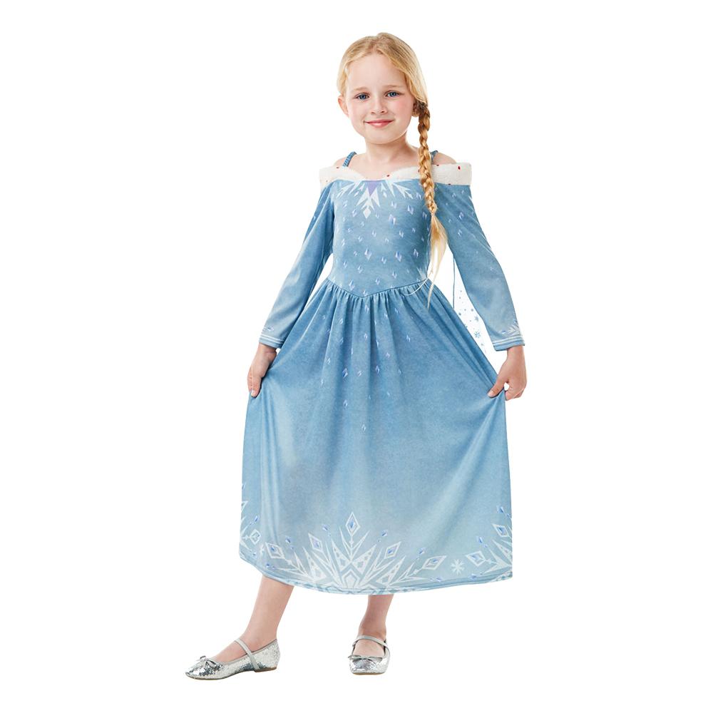 Elsa Olafs Frozen Adventures Barn Maskeraddräkt - Medium