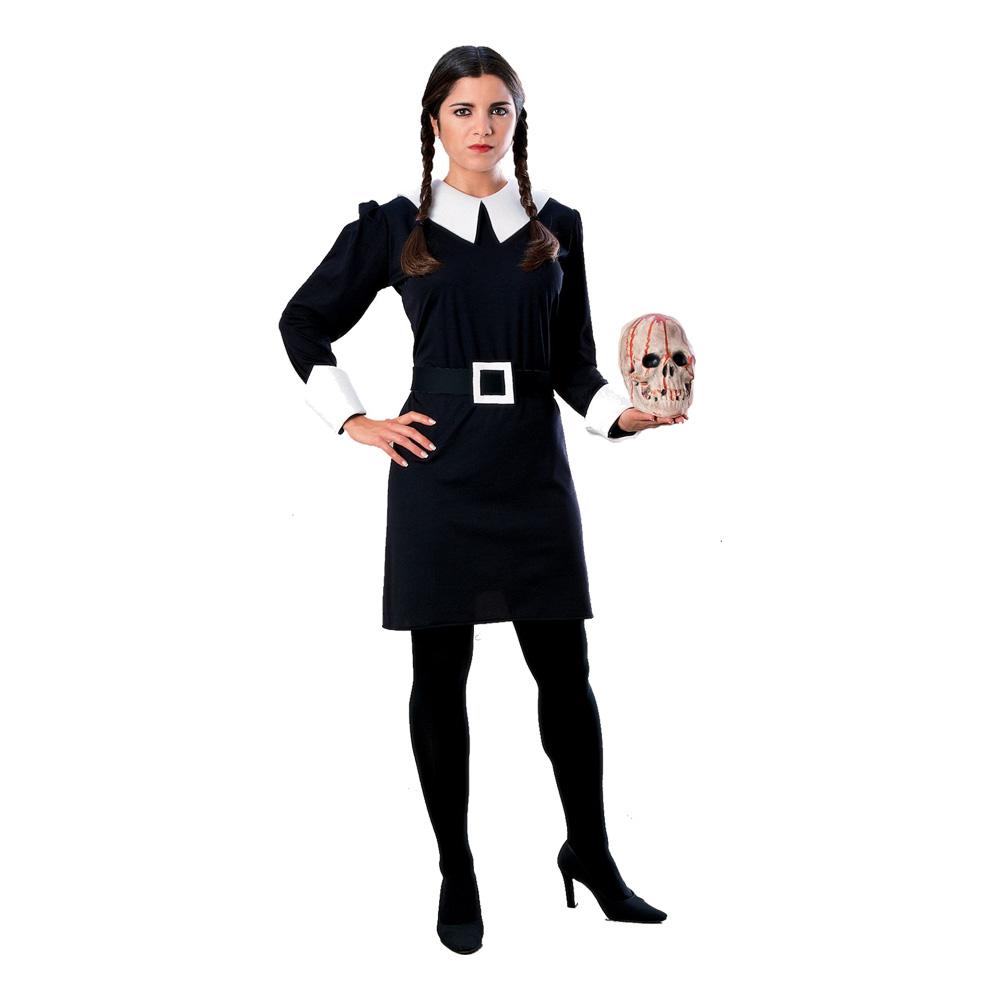 Wednesday Addams Maskeraddräkt - Small