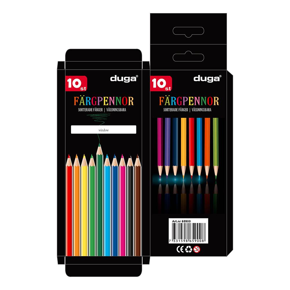 Färgpennor 10-pack - 10-pack