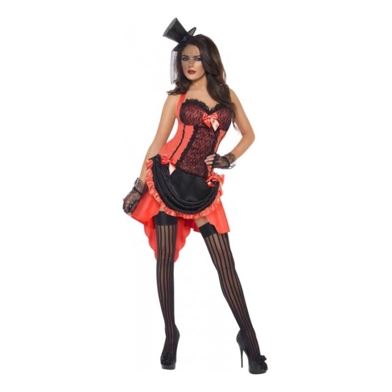 Moulin Rouge Maskeraddräkt - Large