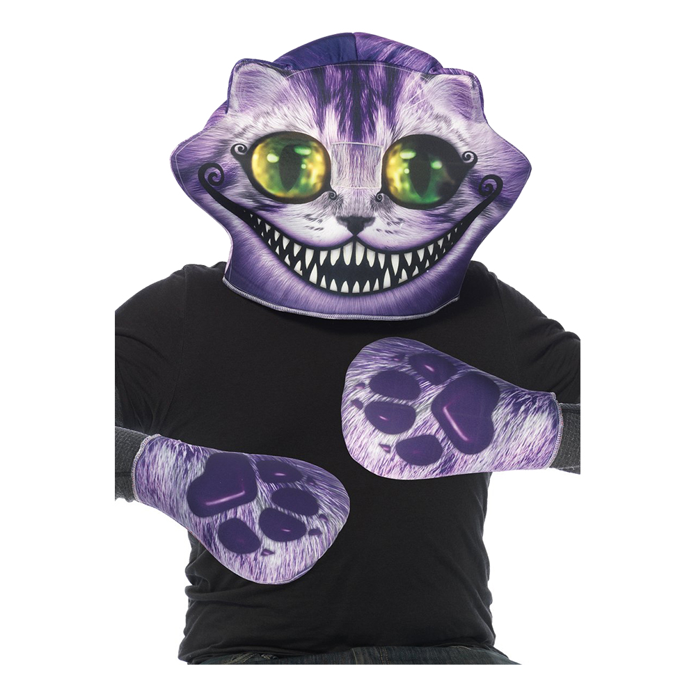 Filurkatt Mask & Tassar - One size