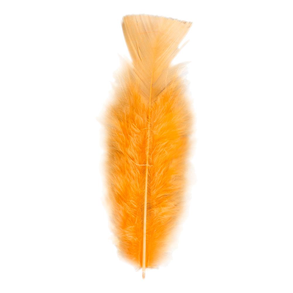 Fjädrar Orange - 50-pack