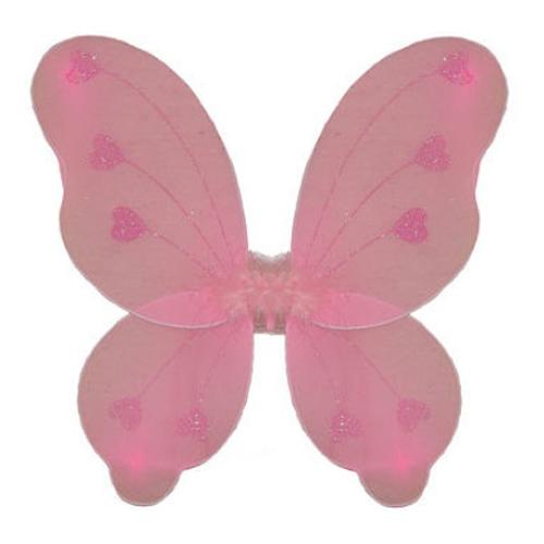 Fjärilsvingar Barn Rosa