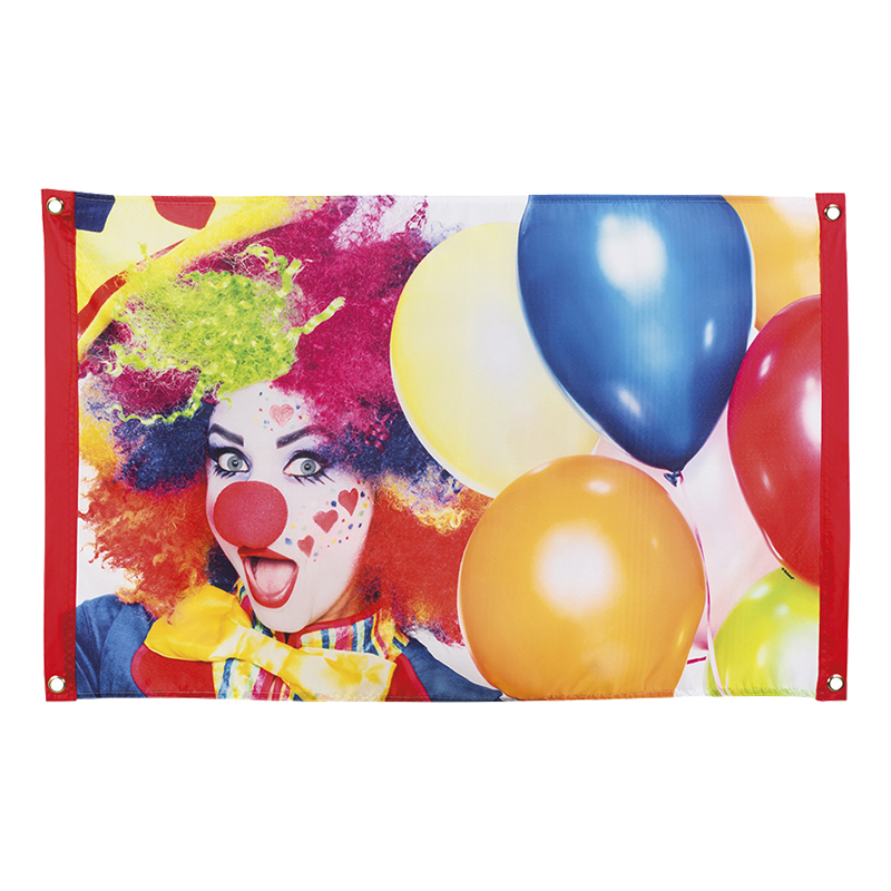 Flagga Clown