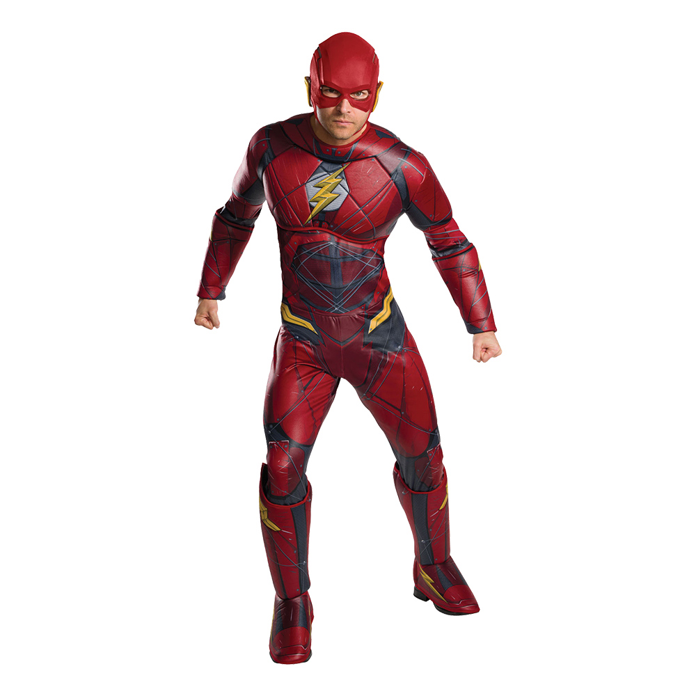 Flash Deluxe Maskeraddräkt - Standard