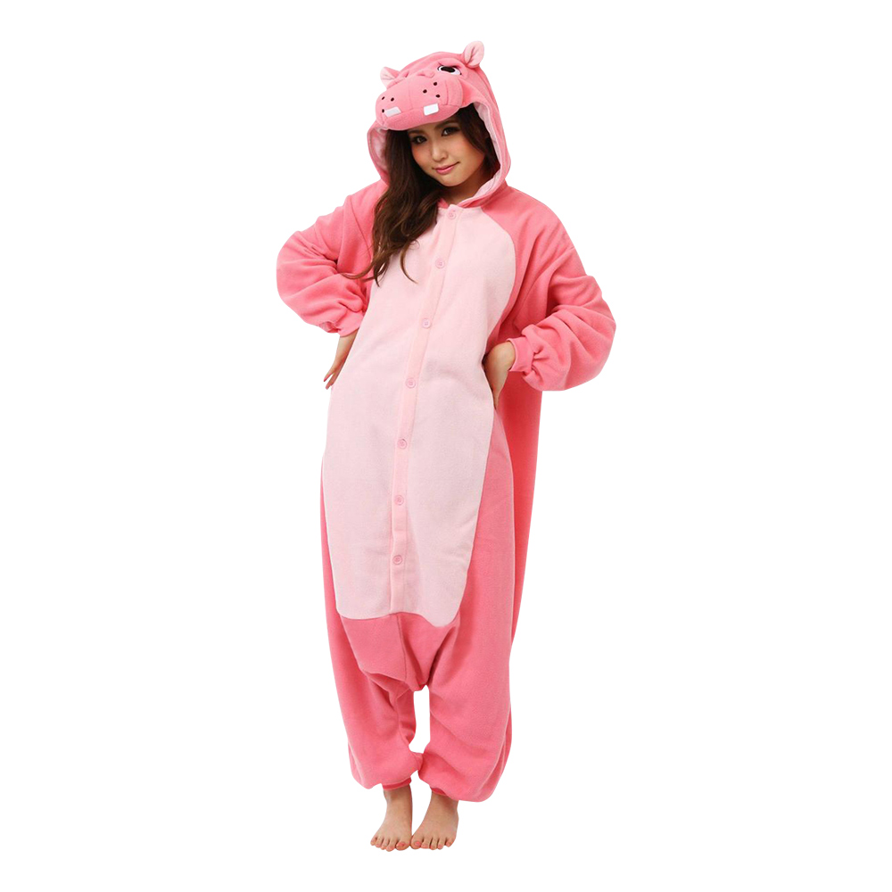 Flodhäst Kigurumi - Medium