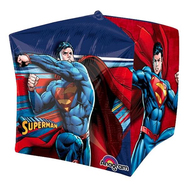 Folieballong Kub Superman