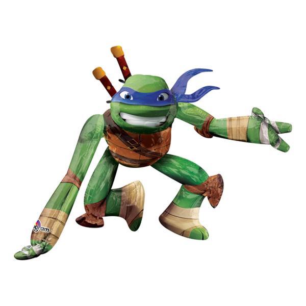 Folieballong Leonardo Ninja Turtles Airwalker