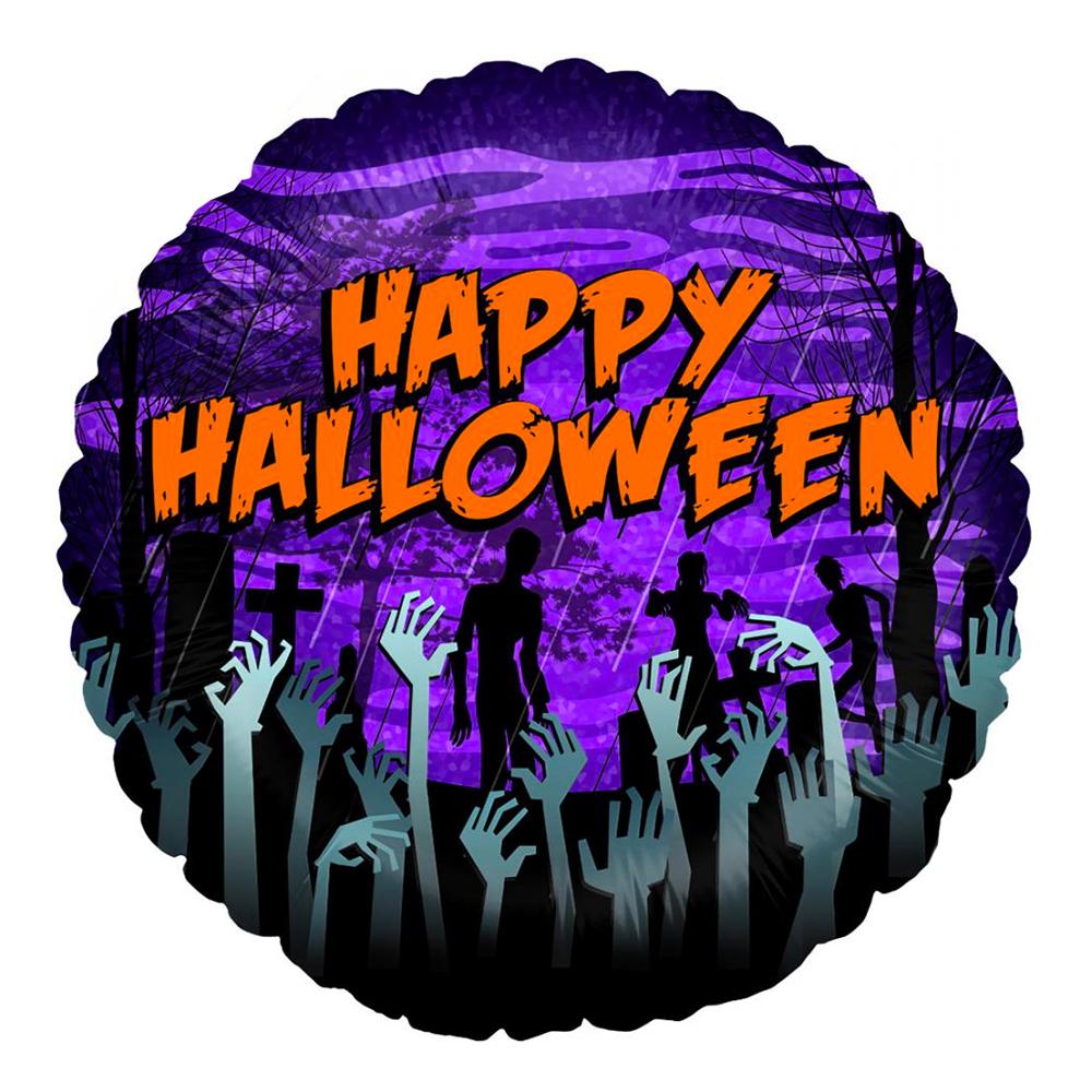 Folieballong Zombie Halloween