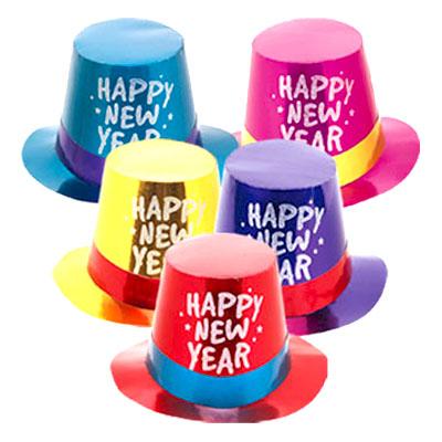 Partyhatt Happy New Year - 1-pack