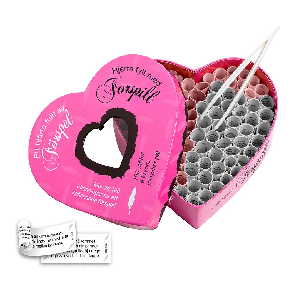 Foreplay Heart Sexspel