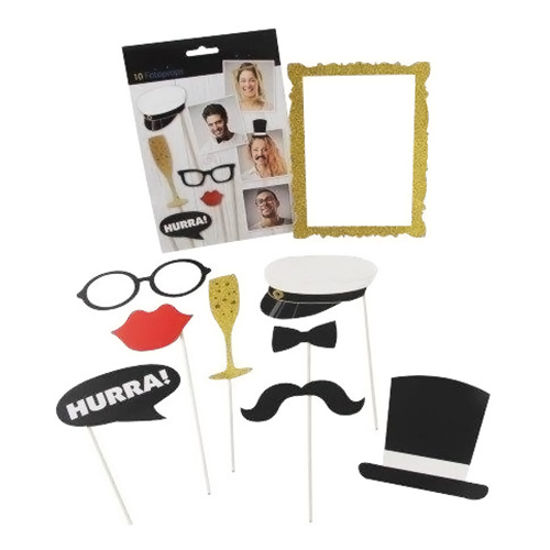 Fotoprops Studentmössa - 10-pack
