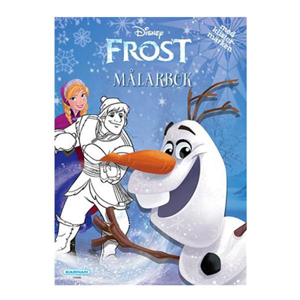 Frost/Frozen Målarbok