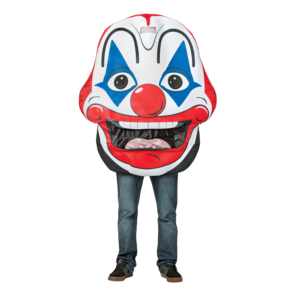 Gigantisk Clown Maskeraddräkt - One size