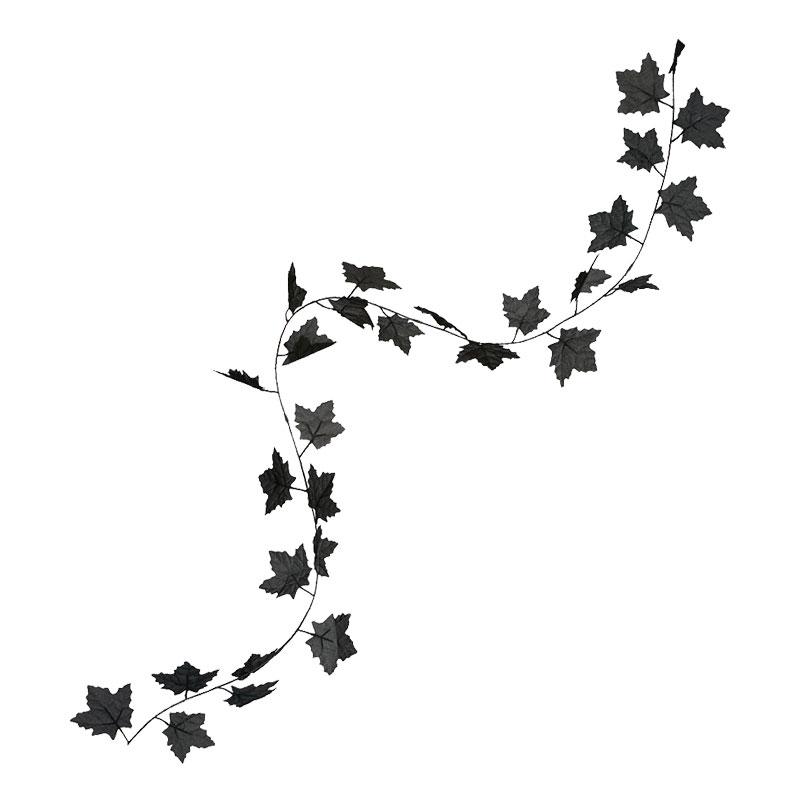 Girlang med Svarta Löv
