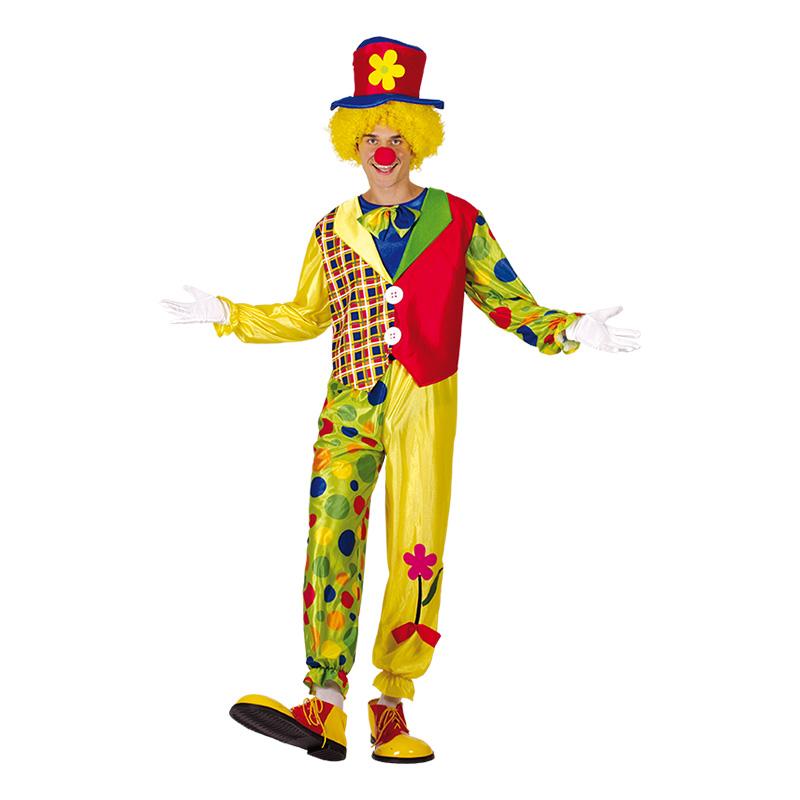 Glad Clown Maskeraddräkt - One size