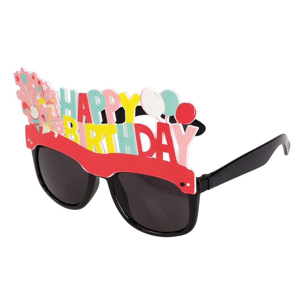 Glasögon Happy Birthday