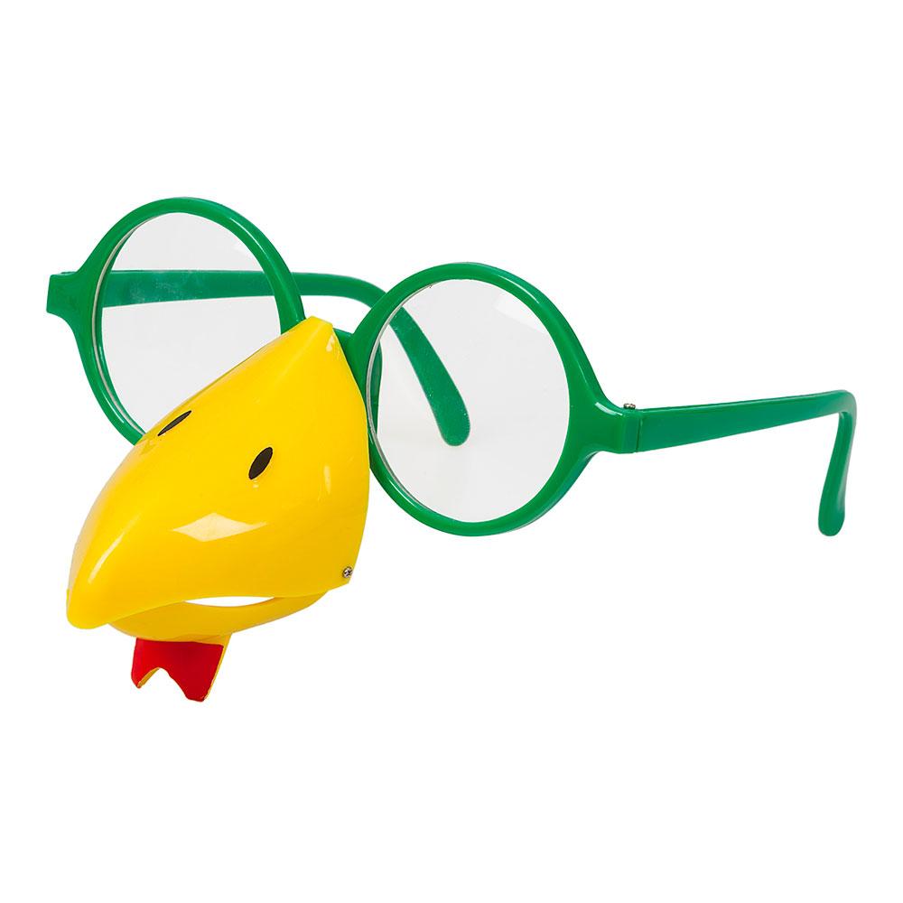 Glasögon med Näbb Höna