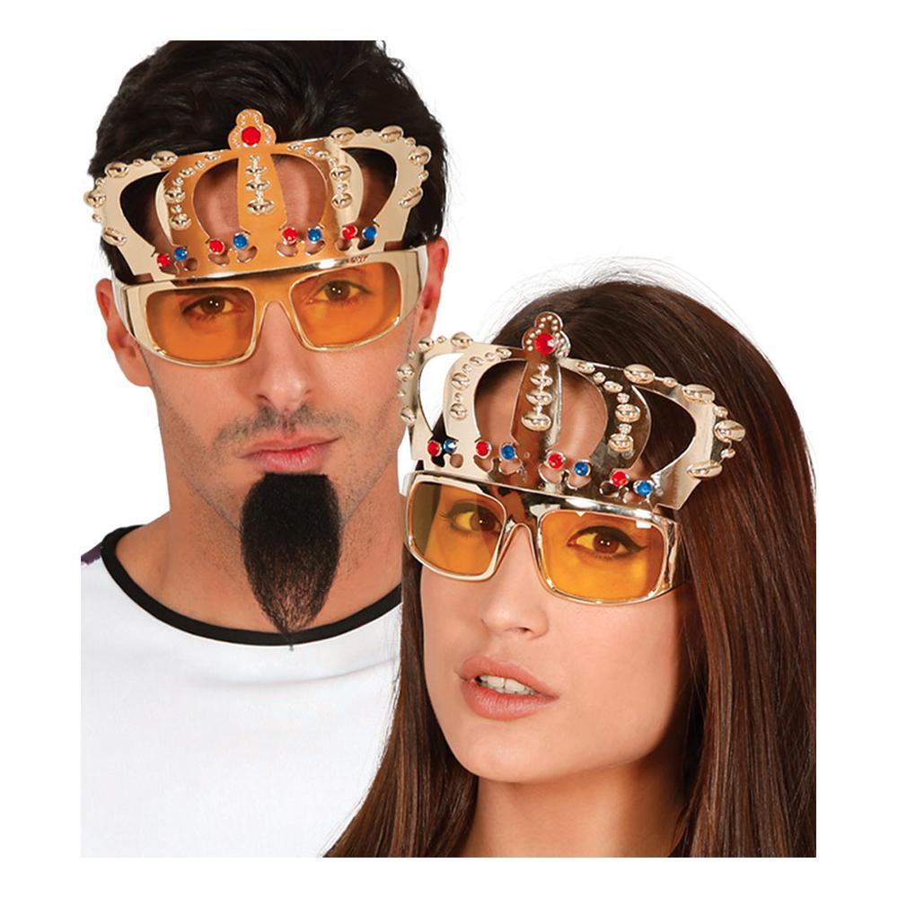 Glasögon med Guldkrona - One size