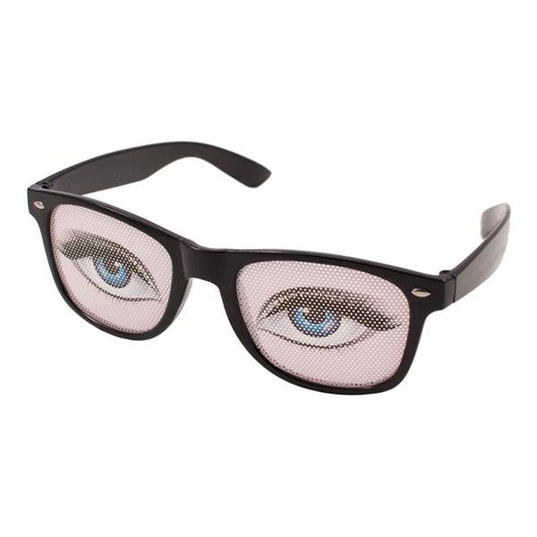 Glasögon med Kvinnoögon